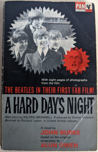 Beatles - A Hard Day's Night Special Australian Edition Book
