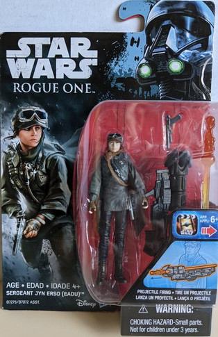 Star Wars: Rogue One - Sergeant Jyn Erso (Eadu)  3.75 Inch Collectable Figure