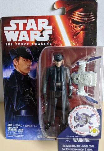 Star Wars: The Force Awakens - First Order General Hux 3.75 Inch Collectable Figure
