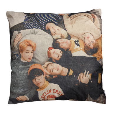 BTS - Band Picture 45x45cm Canvas Style Cushion