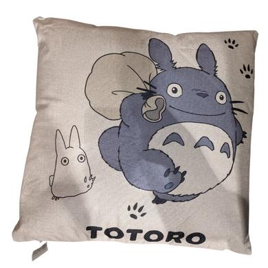 My Neighbor Totoro - Totoro  With Sack Canvas Style 45x45cm Cushion