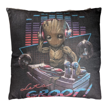 Guardians Of The Galaxy - Groot DJ (Canvas 45x45cm) Cushion