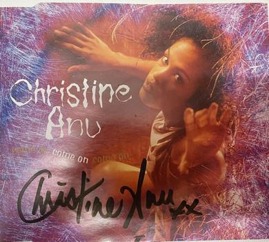 Christine Anu - Come On Autographed 3 Track CD Single