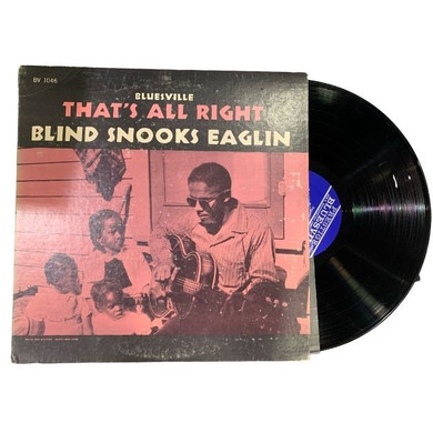 Blind Snooks Eaglin - Thats All Right Vinyl (Used)