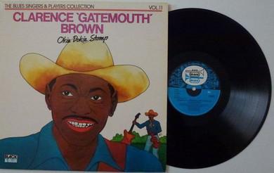 Clarence Gatemouth Brown - Okie Dokie Stomp Vinyl (Used)