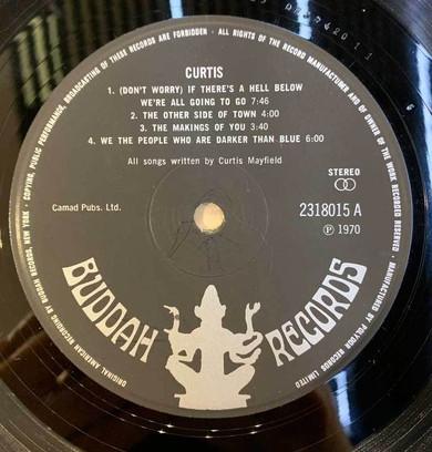 Curtis Mayfield - Curtis Vinyl (Used)
