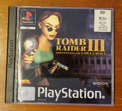 Playstation 1 - Tomb Raider 3 Video Game