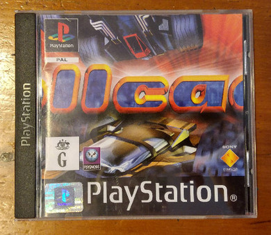 Playstation 1 - Rollcage Video Game