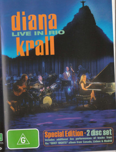 Diana Krall - Live In Rio 2DVD (Secondhand)