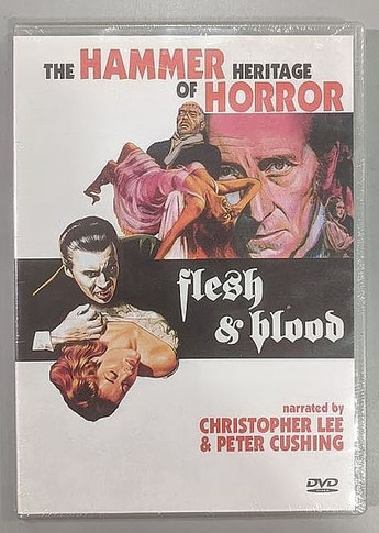 Flesh & Blood - The Hammer Heritage Of Horror DVD