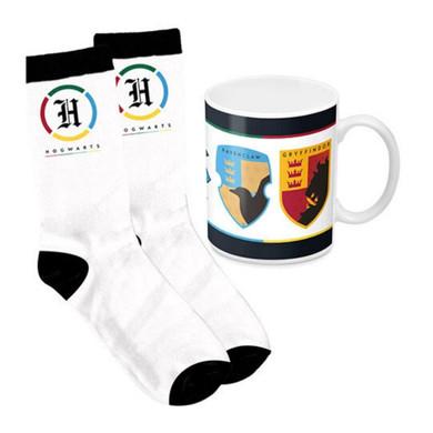 Harry Potter - Mug & Sock Pack: All Houses