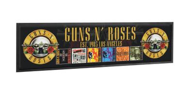 Guns N' Roses - Album Covers Bar Runner