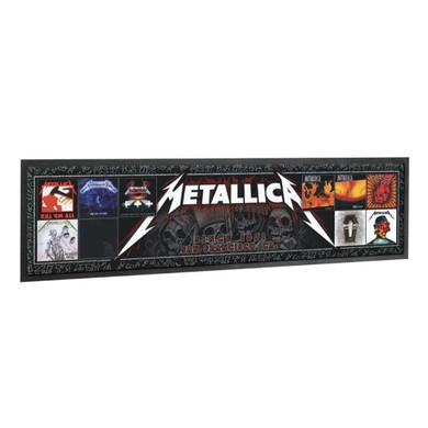 Metallica - Album Covers Bar Runner