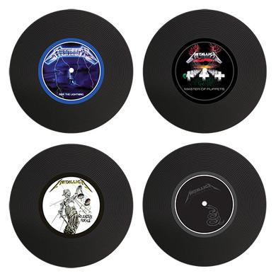 Metallica - Set Of 4 Silicon LP Coasters