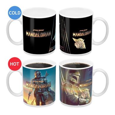 Star Wars: Mandalorian - Mando Heat Change Mug