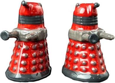 Doctor Who - Dalek Salt & Pepper Shakers