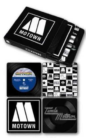 Motown - Set of 4 Various Designs Coaster