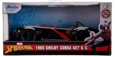 Spider-Man - 1:32 Miles Morales 1965 Shelby Cobra Hollywood Ride Die Cast Car