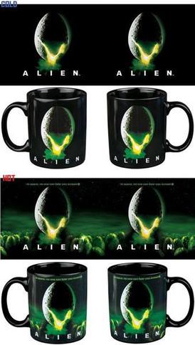 Alien - Egg Logo Heat Changing Mug