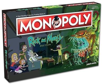 Rick & Morty - Monopoly Board Game