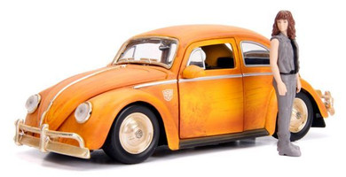 Transformers - 1:24 1971 Volkswagon Beetle Bumblebee Die Cast Car