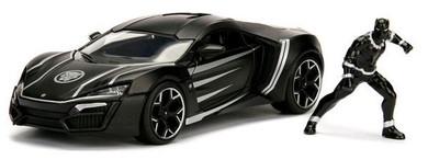 Black Panther - 1:24 Lykan Hypersport Hollywood Rides Die Cast Car