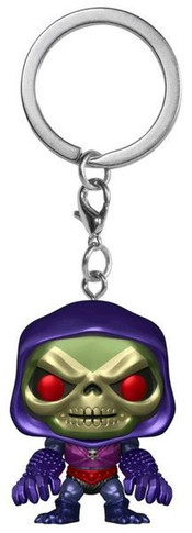 Masters of the Universe - Skeletor W/ Terror Claws Metallic US Exclusive Pocket Pop! Keychain