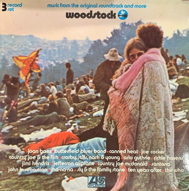 Various - Woodstock: Music From The Original Soundtrack & More 3LP Vinyl (Used)