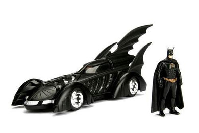 Batman Forever (1995) - 1:24 Batmobile & Figure Die Cast Car