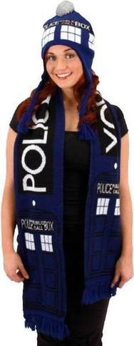 Doctor Who - Tardis Scarf