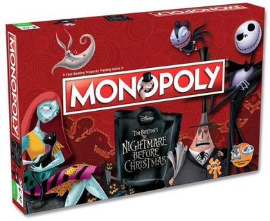 Nightmare Before Christmas - Monopoly Board Game