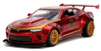 Iron Man - 1:32 2016 Chevy Camaro Hollywood Ride Die Cast Car