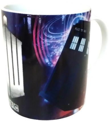 Doctor Who - Tardis & Logo Mug