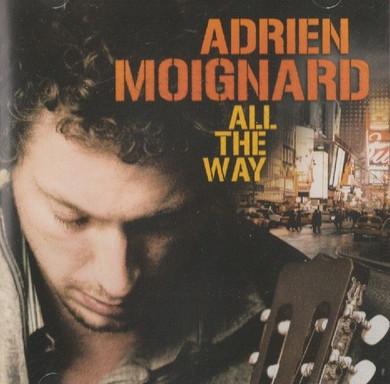 Adrien Moignard - All The Way CD