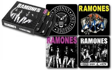 Ramones - Set of 4 Various Designs Coaster