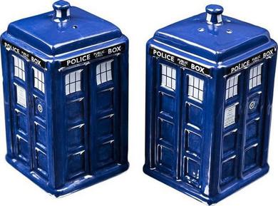Doctor Who - Tardis Salt & Pepper Shakers