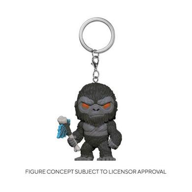 Godzilla Vs Kong - Kong with Scepter Pocket Pop! Keychain