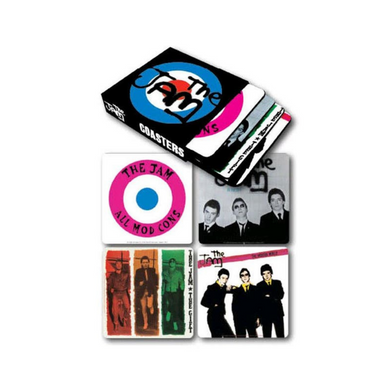 Jam - Set of 4 Various Designs Coaster