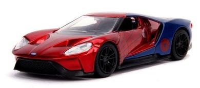 Spider-Man - 1:32 2017 Ford Gt Hollywood Rides Die Cast Car