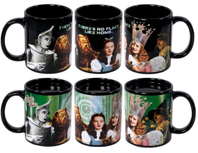 Wizard of Oz - There's No Place Like Home Heat Changing Mug