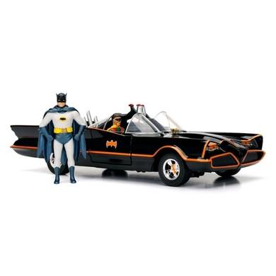 Batman (1966 TV Series) - 1:24 Classic Batmobile & Figures Die Cast Car