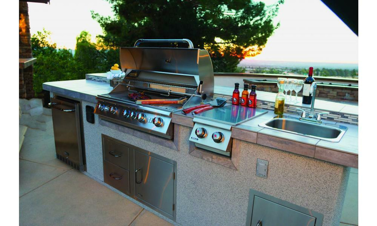 Bull Outdoor Large Stainless Steel Sink