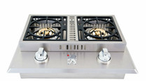 Lion Double Side Burner