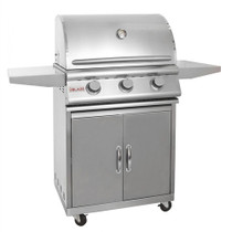 Blaze 25 Inch 3-Burner Gas Grill with Cart