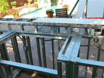 """DIY BBQ Counter Top Grill Cut Out Kit Up To 34"""""""