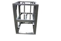 """DIY BBQ 3ft Open Shelf Modular Frame Section 36"""" Standard Height"""