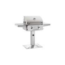 AOG 24-Inch L-Series 2-Burner Freestanding Gas Grill on Pedestal-24PL