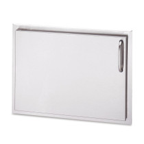 AOG 24-Inch Left Hinged Single Storage Door-17-24-SSDL
