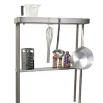 Alfresco High Shelf With Pot Rack And Light For AGBC-30