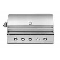 Delta Heat 38inch Built-in Premier Outdoor Gas Grill with Sear Zone Model